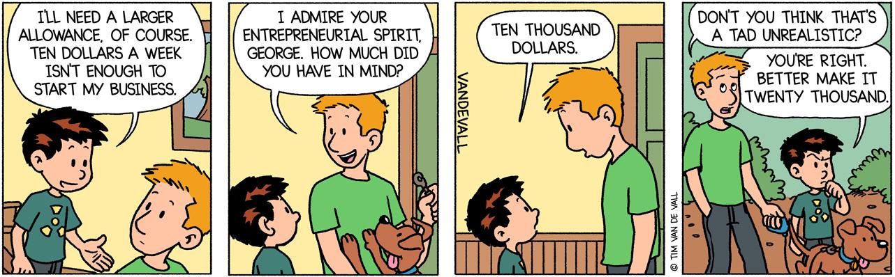 George Wants a Higher Allowance