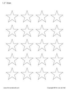 1.5 inch stars to print