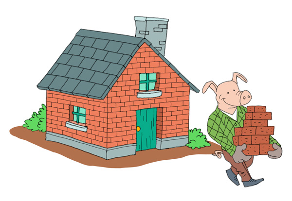 10-the-three-little-pigs-house-of-bricks