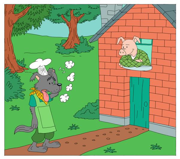 12-three-little-pigs-story