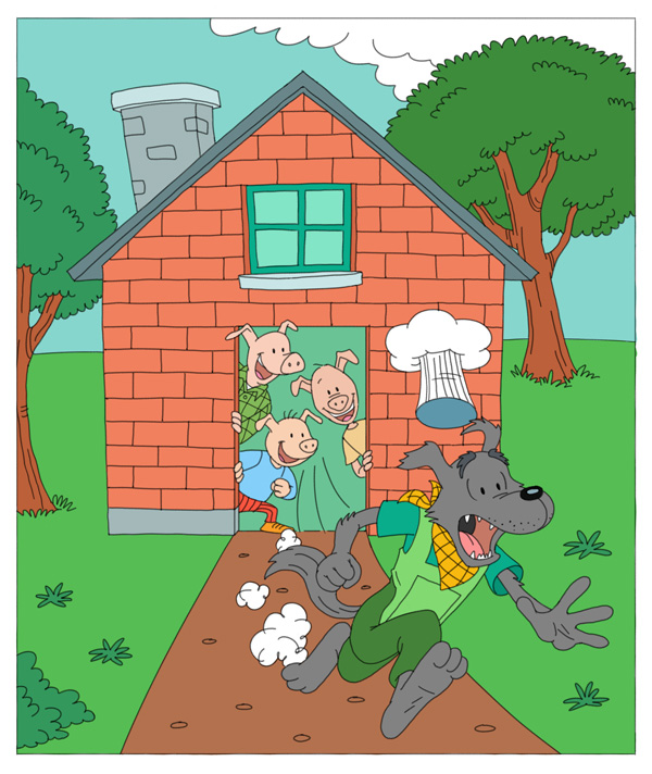 18-the-three-little-pigs-short-story