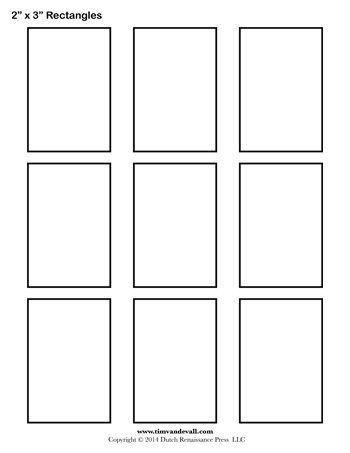 Sassy image inside rectangle template printable