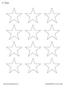 printable 2 inch star template pdf