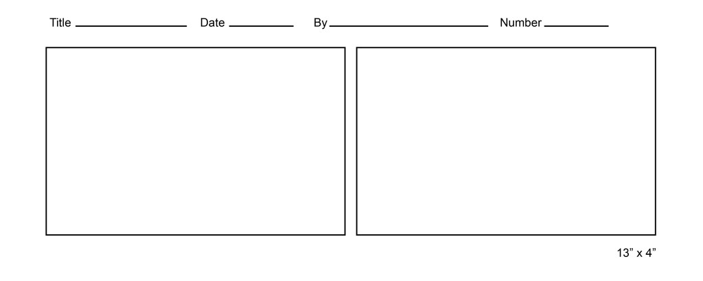 Printable comic strip template for Printable blank comic strip template for kids