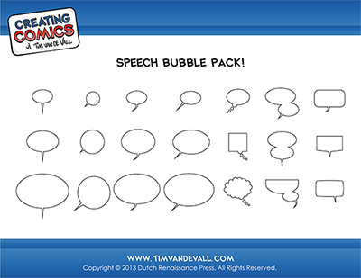 Speech Bubble Pack Overview