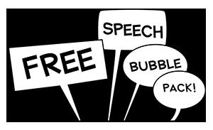 Free Speech Bubbles