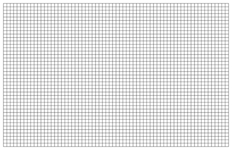 Graph Paper Template 11x17 Tabloid Printable PDF – Free Graph Template