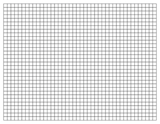 Graph Paper Template, 11×17 Tabloid Printable PDF