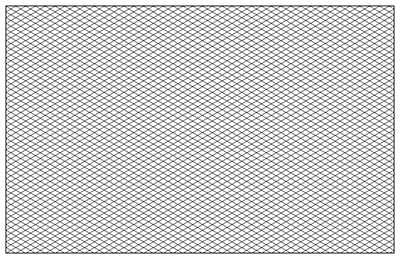 Graph+Paper+Isometric+Grid Isometric Graph Paper Template 11 X 17 ...