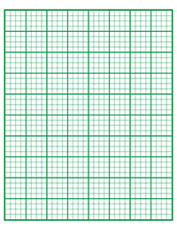 Free printable graph paper for kids Pt 1