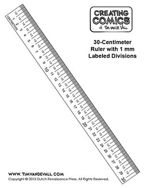Printable Ruler
