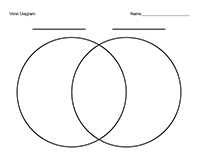 ... area similarities diagrams circle word. Vin compare via printable