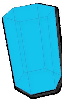 Hexagonal Prism Wireframe