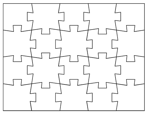 Jigsaw Puzzle Pattern Free Download