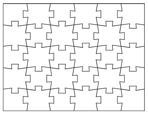 Blank Jigsaw Puzzle Templates | Make Your Own Jigsaw Puzzle