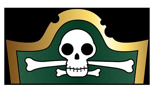 Pirate Hat Template