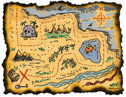 Blank treasure map templates for children maxwellsz
