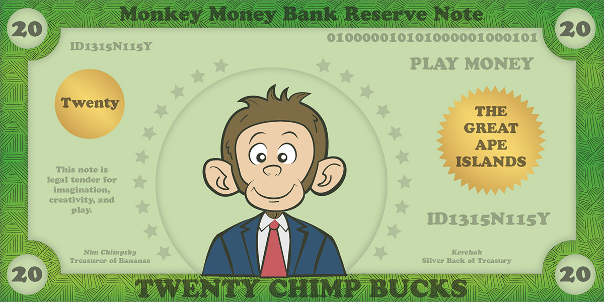 Printable Play Money for Kids & Play Money Template – Money Games