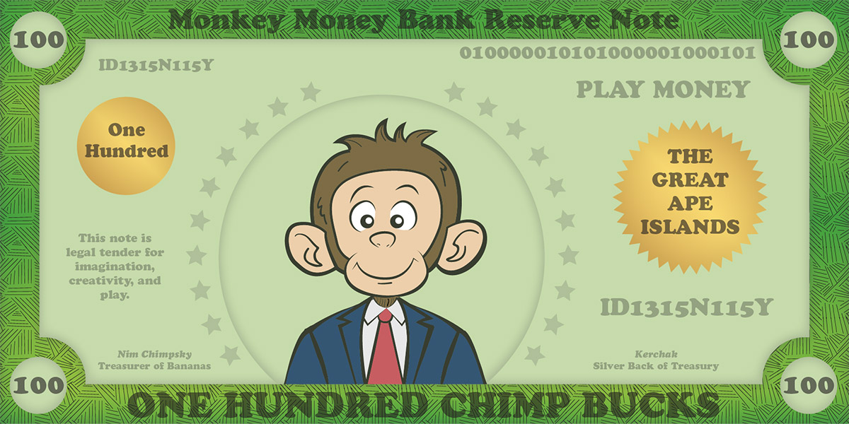 Play Money Template Free Printable play money for kids