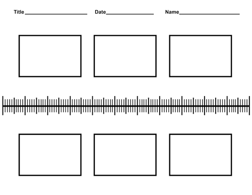 Free Blank History Timeline Templates for Kids and Students – History Timeline Template