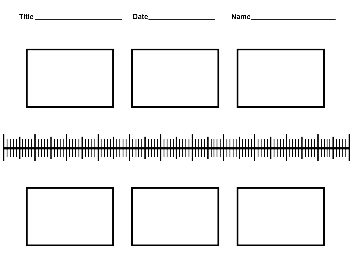 Pin Printable Blank Timeline Template on Pinterest