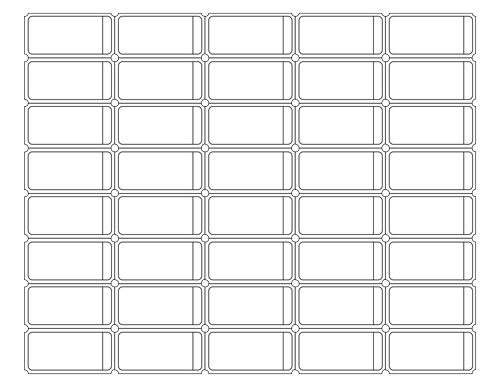 Blank Admit One Ticket Templates  Free Printable Ticket Templates