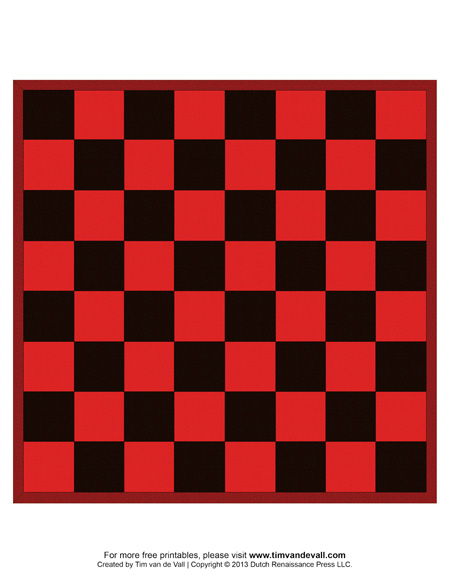 Printable Chess Boards