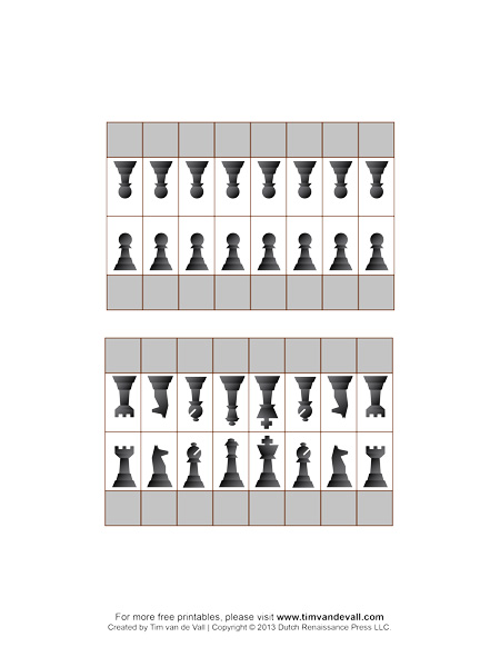 Sly image throughout chess board printable