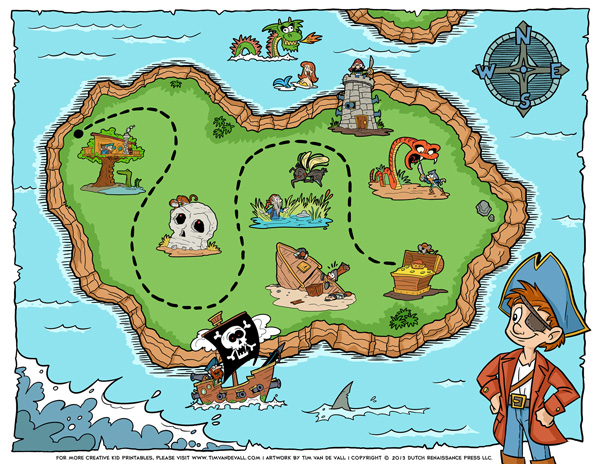 printable pirate treasure map jpeg