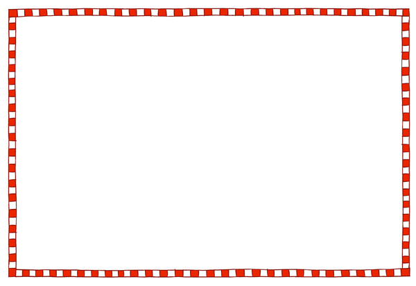 postcard border template