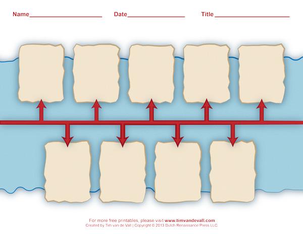 timeline template for kids tim s history printables