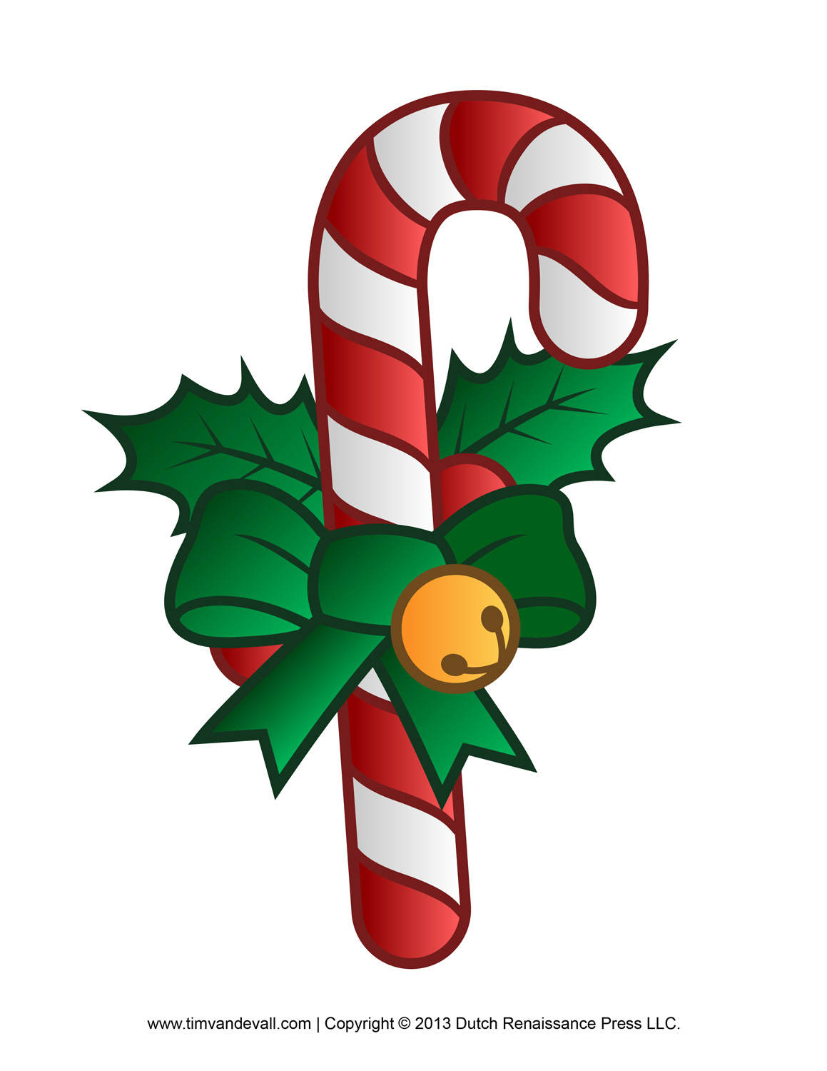 Canny image within candy cane printable
