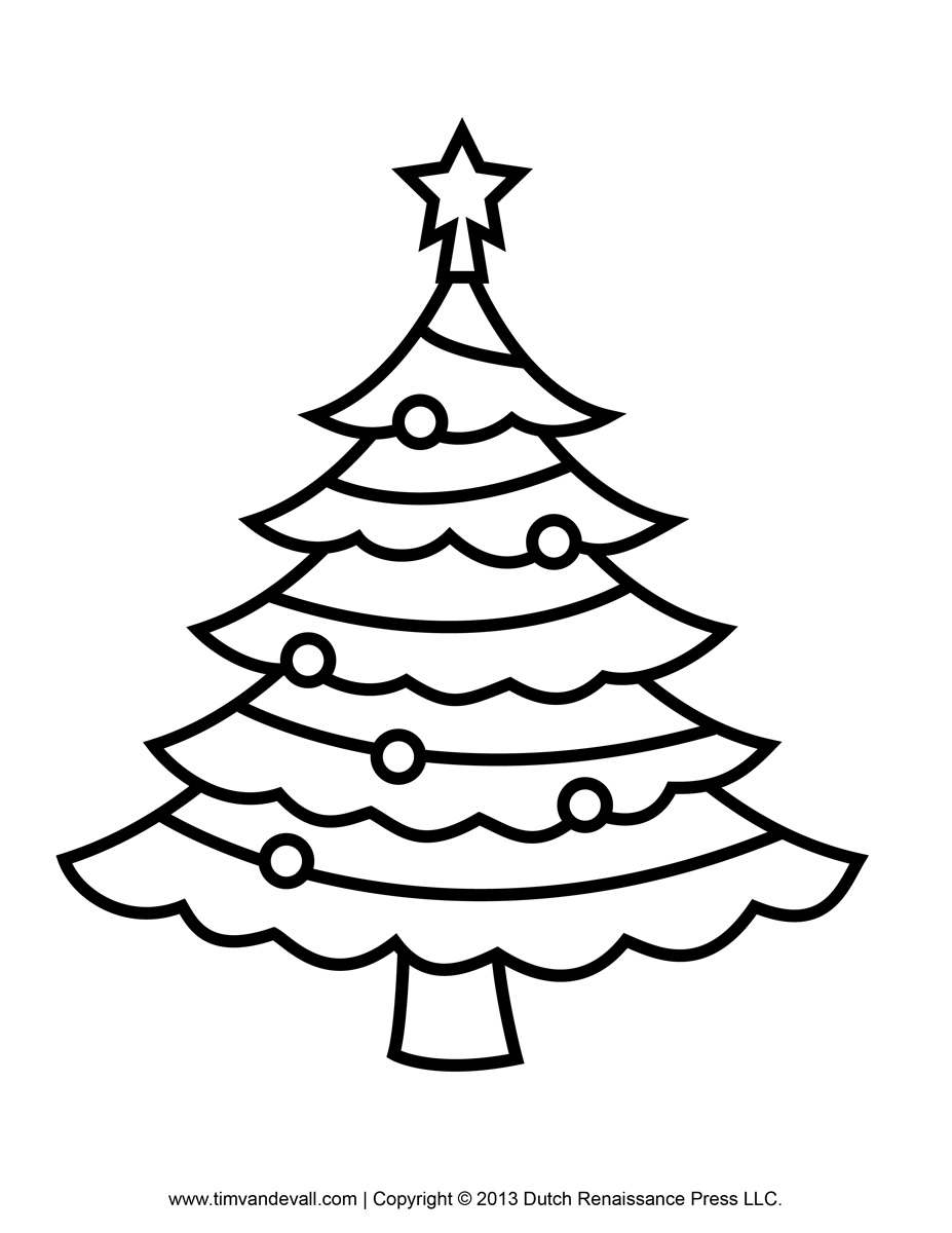 printable paper christmas tree template and clip art christmas tree coloring page christmas tree printable