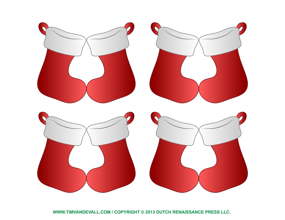 Christmas Stocking Ornaments & Decorations