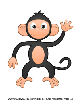 Image Result For Print Monkey Coloring