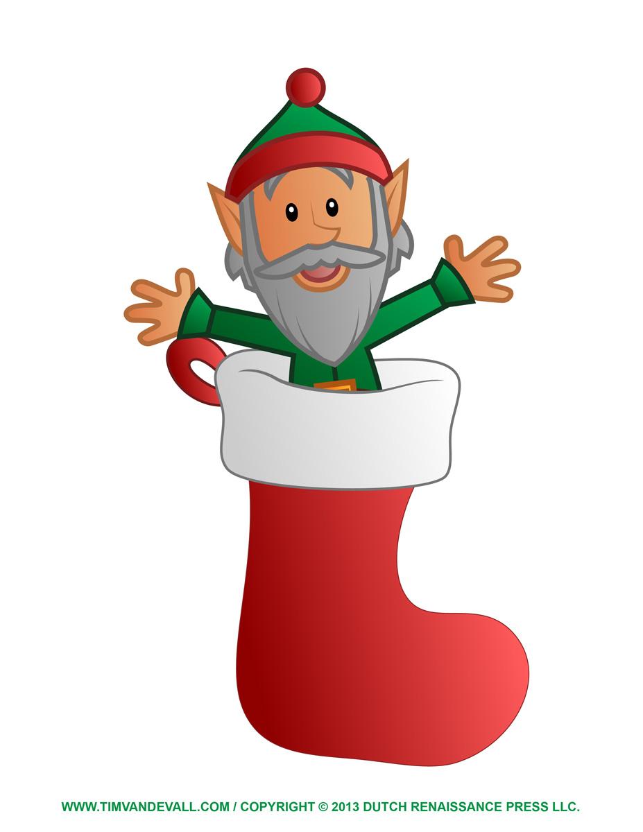 happy elf clipart - photo #49