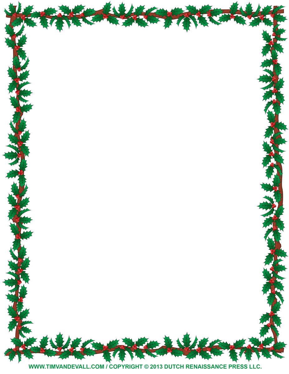 clipart xmas borders - photo #8