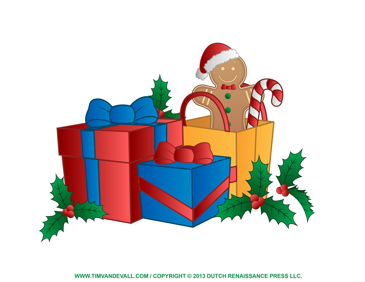free clipart pictures of christmas presents - photo #9