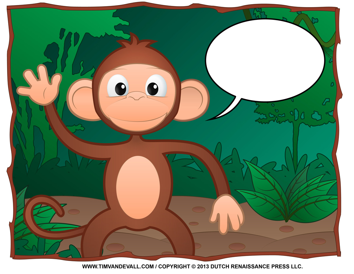 Image Result For Coloring Pages Monkey