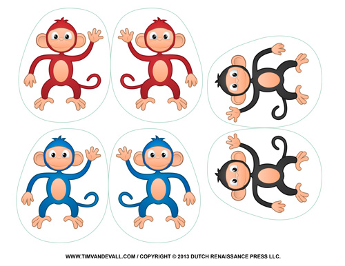 Monkey Crafts for Kids