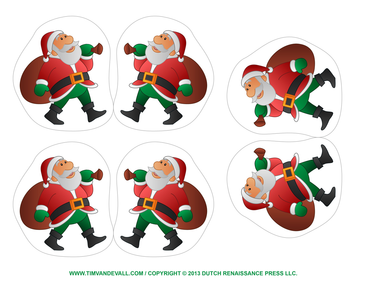 Free Printable Christmas Ornaments Merry And Happy New