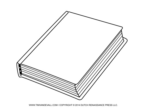 Drawing Of Book Cover : Free book cover template for kids tim s printables