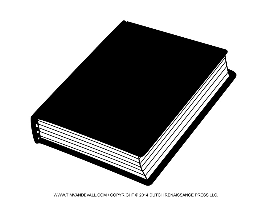 Book Cover Black Fusion : Free blank book cover template report reading