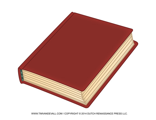 Closed Book Clip Art