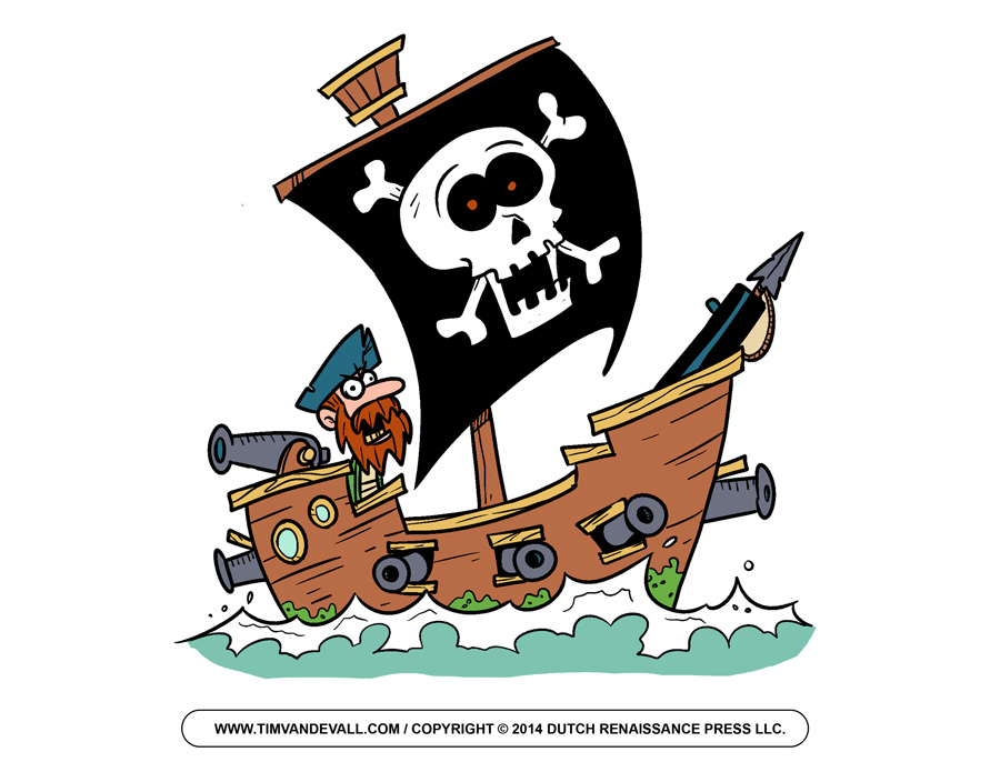 Pirate Clip Art Free Cartoon Pirate Images Pictures