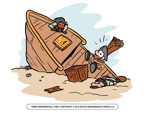 Shipwreck Pirate Clip Art