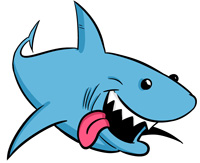 Cartoon Shark Clipart