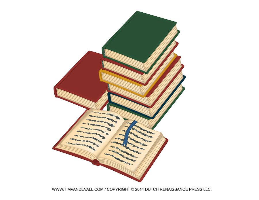 Stack Of Books Clipart Free