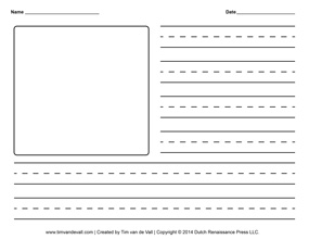 Another collection of blank creative writing templates, in landscape ...
