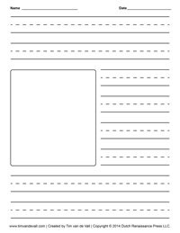Shopping List Writing Template